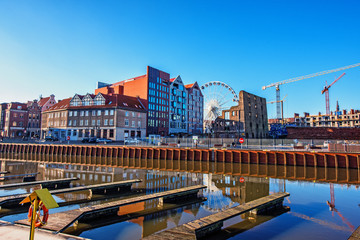 Gdansk canal © Dmytro