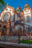 Hungarian Art Nouveau synagogue in Subotica, Serbia - 203678222