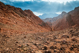 Mountain in Sinai desert Egypt - 203720442