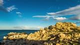 Rocce di Punta Molentis,  Satdegns (4k time lapse) - 203740294