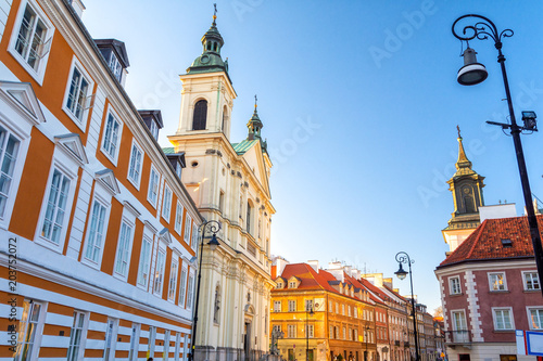 Fototapety, obrazy : Old Town in Warsaw, Poland