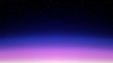 Night shining starry sky, pink blue space background with stars, cosmos