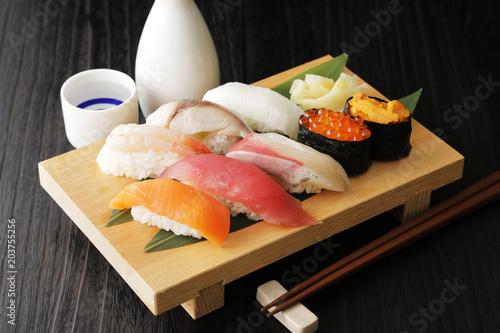 Fotobehang Sushi bar 寿司 Japanese food Sushi image