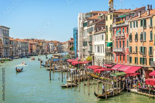 Zdjęcia na płótnie, fototapety na wymiar, obrazy na ścianę : Venice, Canal Grande, Italy