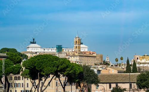 Plexiglas Blauw Rome