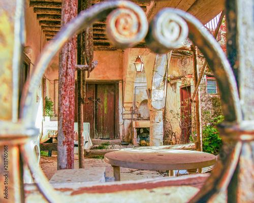 Plexiglas Cyprus Artistic village suroundings