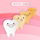tooth with dental care concept - 203767009