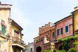 Streets and old town stone architecture