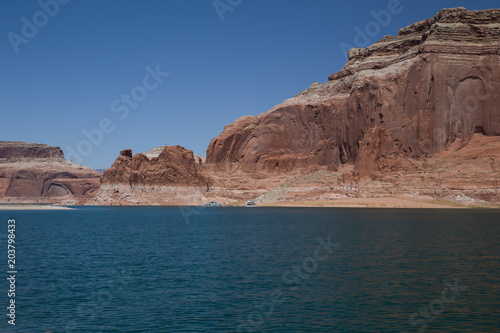 Fotobehang Cappuccino Lake Powell on the Utah and Arizona Border.