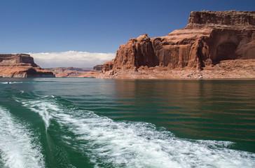 Lake Powell on the Utah and Arizona Border.  © michael