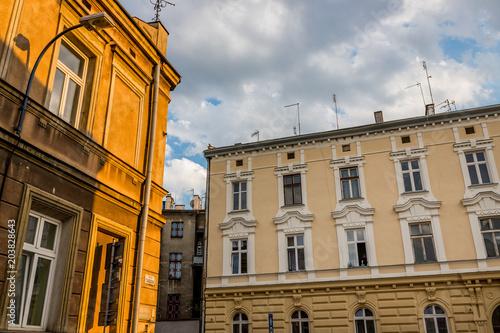 Aluminium Krakau L'ancien quartier du ghetto Juif de Cracovie