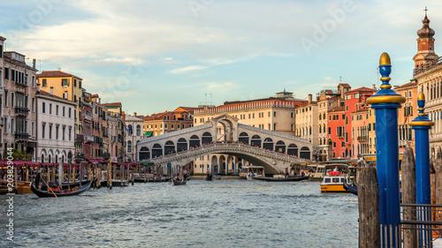 Zdjęcia na płótnie, fototapety na wymiar, obrazy na ścianę : Canal Grande, Venice, Italy