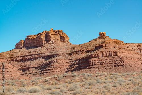 Plexiglas Blauw Southern Utah Landscapes