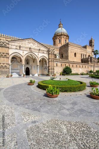 Plexiglas Palermo Palermo cathedral, Italy