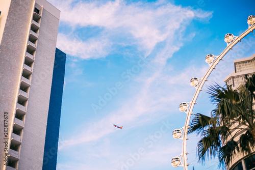 Fotobehang Las Vegas LAS VEGAS, NEVADA. Ferris wheel