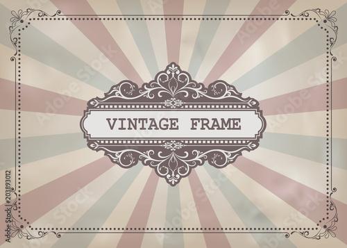 vintage-frame