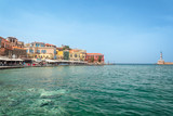Venitian habor of Chania in Crete, Grece - 203898406