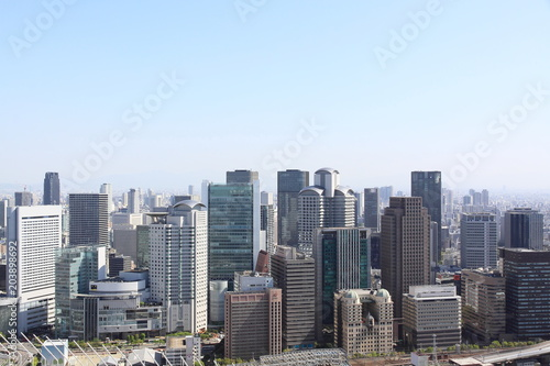 Canvas New York The city view from Umeda Sky Building
