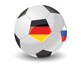 Ball Deutschland Russland