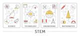STEM concept illustration. - 203941619