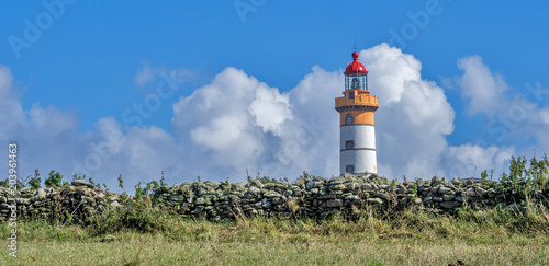 Fotobehang Vuurtoren phare