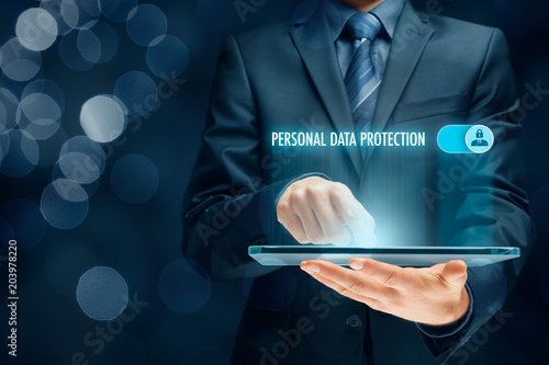 Personal data protection concept