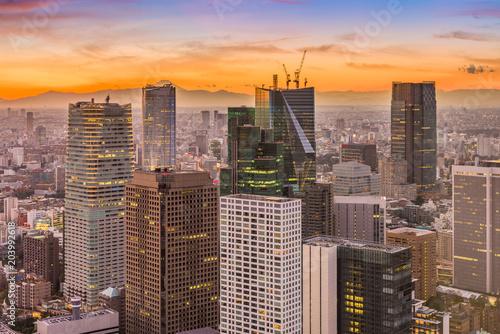 Plexiglas Tokio Tokyo Japan Financial Buildings