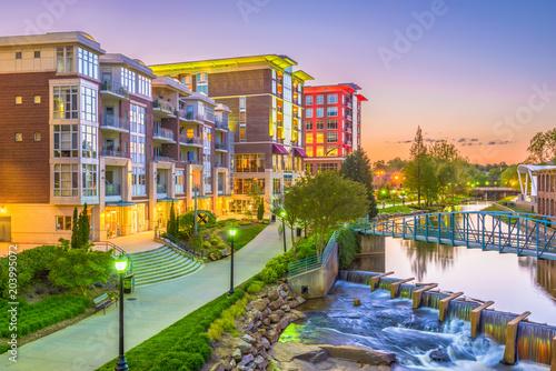 Greenville, South Carolina, USA Cityscape