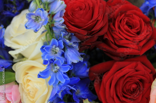 Red white and blue wedding flowers buy photos ap images detailview red white and blue wedding flowers mightylinksfo