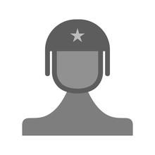 Soldier Toy Commando Sticker
