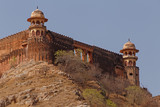 sight of Jaigarh Fort from Amer Fort in Jaipur, India - 204049024
