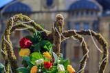 Regal crown in floral decoration - 204056284