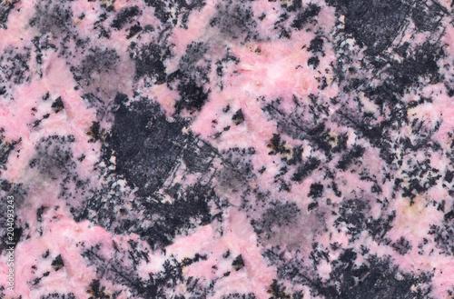 Canvas Stenen pink rhodonite mineral seamless texture