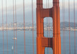 A piece of the structure and architecture of golden gate bridge
