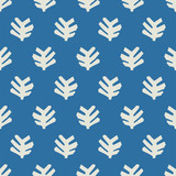 seamless leaf pattern - 204106052