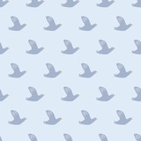seamless bird pattern - 204106089