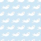 seamless cat pattern - 204106097