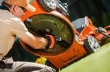 Checking Lawn Mower Blades - 204116416