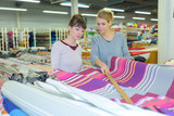Women in textiles outlet