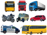 Set of automobiles - 204131694