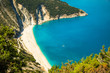 Myrtos bay and beach on Kefalonia island, Greece.