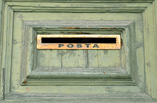 Plexiglas Palermo Palermo Mail Slot