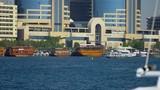 Anchored ships in the Dubai Creek  - 204153035