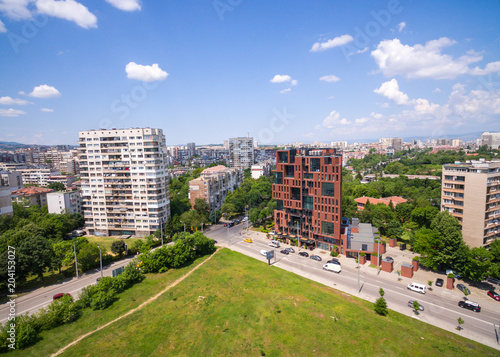 Sofia City Bulgaria / Aerial Photography