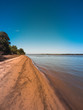 Постер, плакат: A view of the Uruguay river at the Municipal Natural Park in Sao Marcos village Uruguaiana Brazil