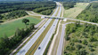 Highways from drone
