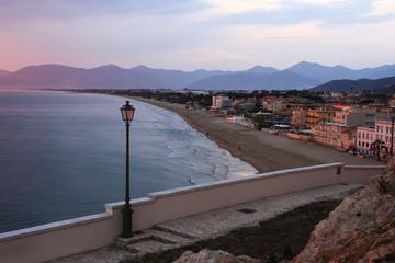 Veduta della spiaggia di Sperlonga © Maurizio P