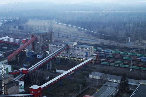 The coal treatment plant © Karel