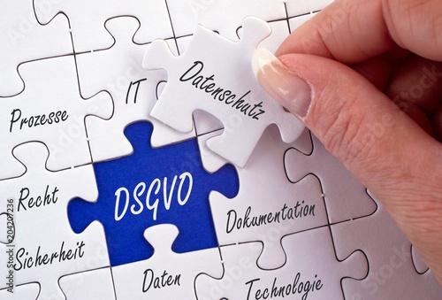 Leinwanddruck Bild DSGVO, Datenschutz, Datenschutzgrundverordnung, Grundverordnung, Datenspeicherung, Datenverarbeitung, Compliance, Richtlinie