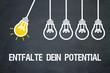 Entfalte dein Potential / Lampen / Konzept